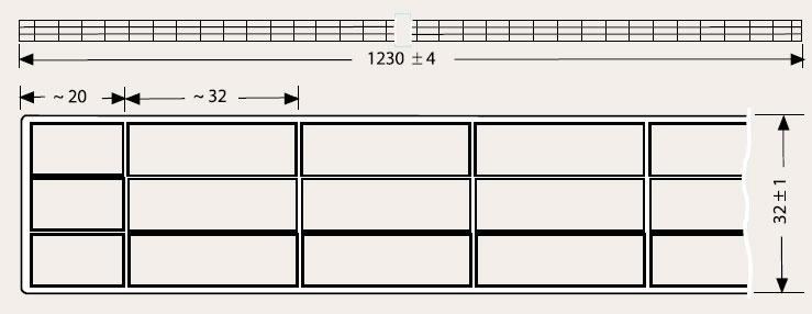 Zeichnung S4P Stegplatten Plexiglas Resist 32/32
